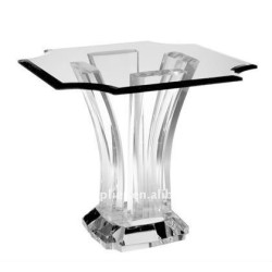 Fashion life clear acrylic coffee table with high transparent