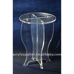 new style transparent clear acrylic dining room table