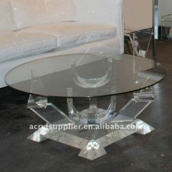 acrylic dining room table
