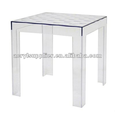 clear acrylic lucite table