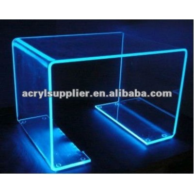 coloured acrylic cube table for home and hotel