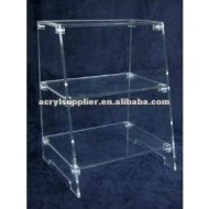 Acrylic stand with 3 Tiers