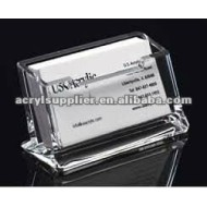 Clear fashion high-end acrylic rolodex