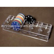 Acrylic chips holder
