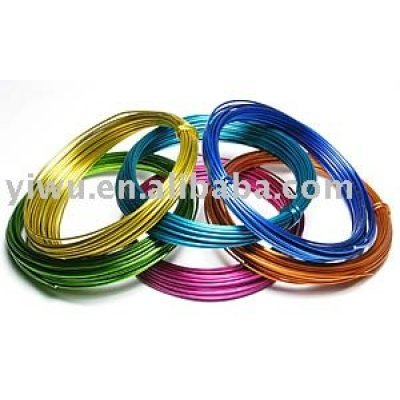 Colored Aluminum Wire/Colored Wire For One Dollar Store