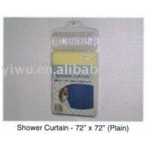Yiwu Dollar Store Item Agent of Shower Curtain of 72''X72'' Plain