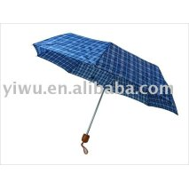 Sell Three Fold Blue Umbrella for Summer