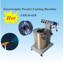 KCI 201 powder coating machine