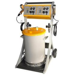 easy operate powder coating system