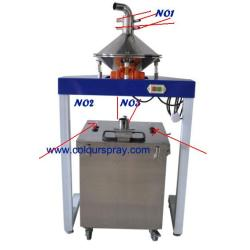automatic powder coating machine cycling system