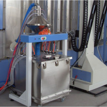 Automatic powder cycling and recovery system