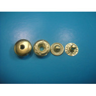Metal Spring Snap Button Metal Snap Fastener