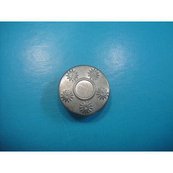 Dull Silver Snap Button Dull Silver Press Snap Fastener