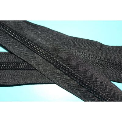 #10 nylon  long chain zipper