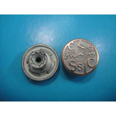 engraved shank button for jeans