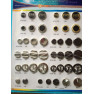 Zinc Alloy Sewing Button
