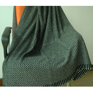 GREY CASHMERE THROW