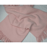 PINK CASHMERE THROW