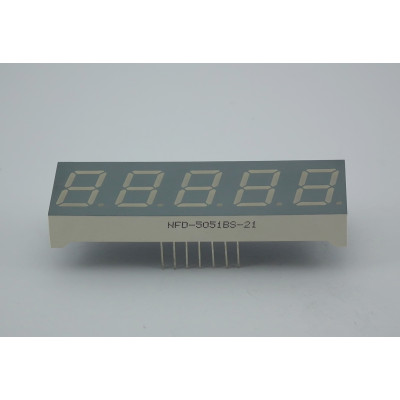 LED Five Digit Display