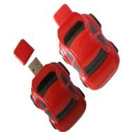 Plastic Wholesale Red Car USB Flash Memory