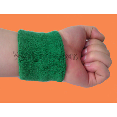 Green Sports Sweatband