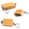 Wood USB Flash Drive In Square Shape With 1GB-16GB