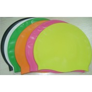 Custom design silicone swimming cap