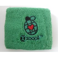 Cotton Embroidery Logo Sweatband