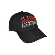 100% Cotton Baseball Cap With 3D Embroidered