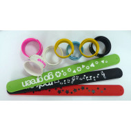 Silicone Slap Band