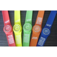 HOT,Promotion Slap Digital Silicone Watch