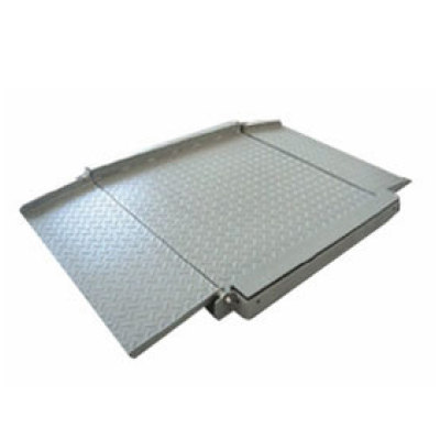 ULtra low profile, double deck  floor scale
