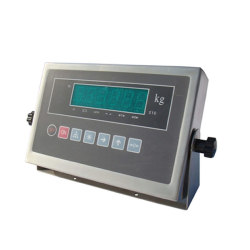 Stainless steel weighing indicator