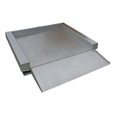 ULtra low profile, Stainless steel single deck floor scales