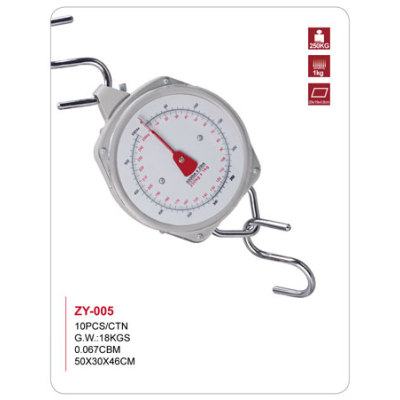 Mechanical hanging scale