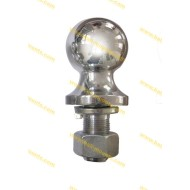 2-5/16 inch hitch ball chrome Arc shank