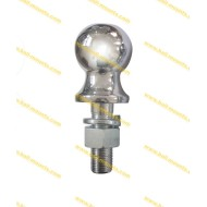 1-7/8 inch hitch ball Chrome Arc shank