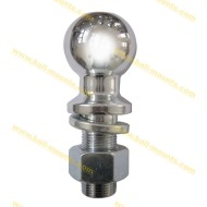 2-5/16 inch hitch ball chrome
