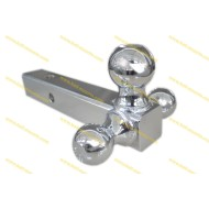 Tri-ball Mount Full chrome plated