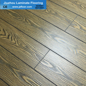 12mm Match Registered Laminate Flooring HDF Meterial