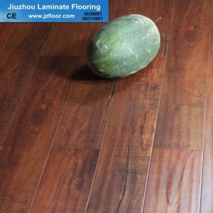 12MM GERMANY TECNHOLOGY  BEST HDF  HANDSCRAPED  LAMINATE FLOORING