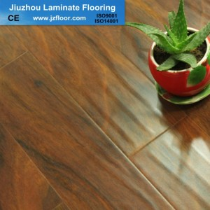 12MM WATERPROOF HANDSCRAPED  LAMINATED FLOORING