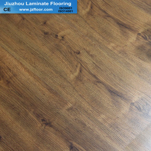 7mm  HDF little embossed   best quality laminate flooring