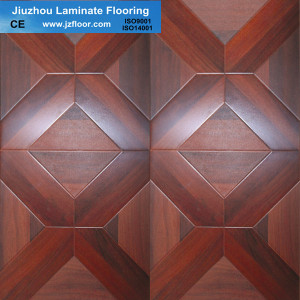 12mm Square Parquet Uinlin Laminate Flooring