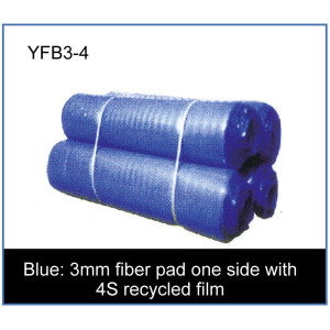 3mm fiber pad one side with 4S recycled film