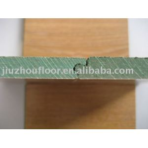 Green core Arc Click HDF Laminated Flooring