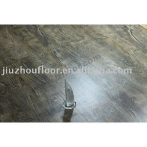 easy lock best hdf middle embossed laminated flooring