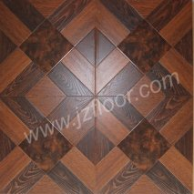 12mm hdf núcleo brown piso laminado
