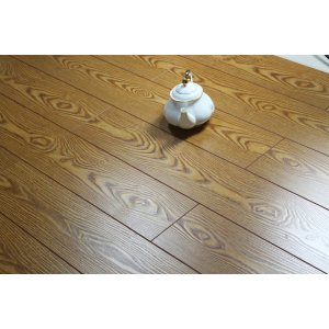 Match registered V-groove Ac3 laminate flooring