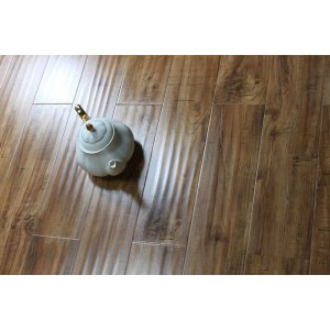 Handscraped 12mm Ac3 laminate flooring